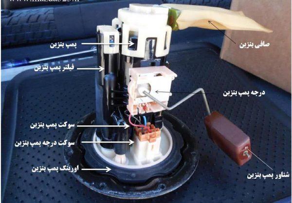 یدک کش - امداد خودرو تهران- امداد خودرو شرق - فیلتر بنزین